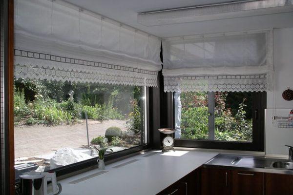 Eckfenster aus Aluminium eckverschweißt