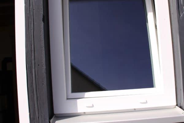 Kunststoff Fenster maßgefertigt für Fachwerkhaus