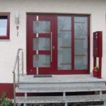 Haustüre mit passendem Briefkasten in 72116 Mössingen