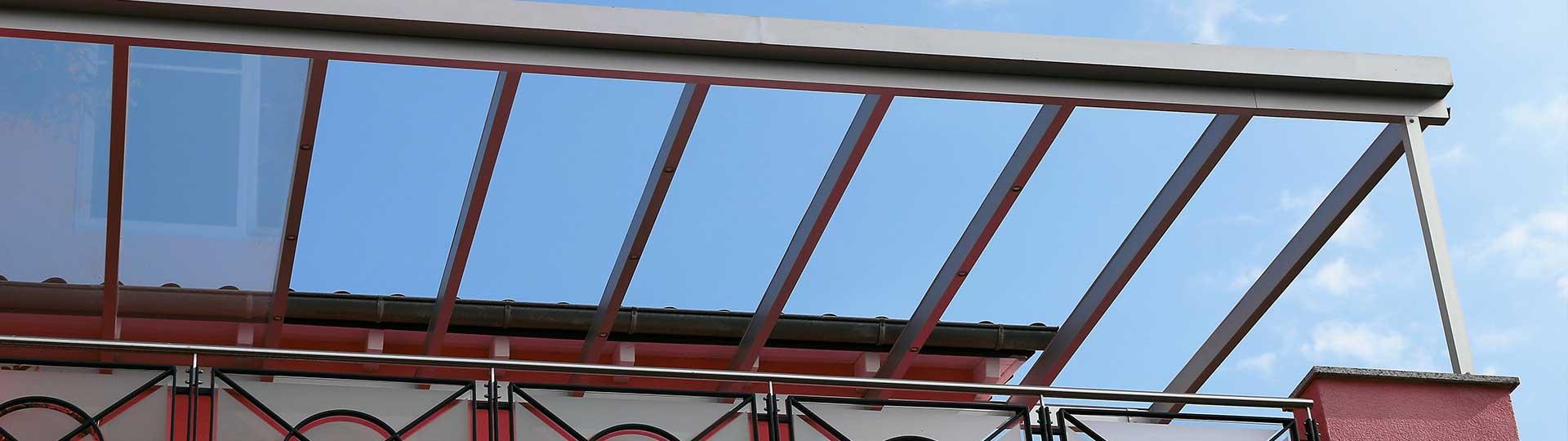 Balkonüberdachungen Headerbild