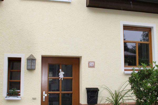 Holz Stilhaustüre mit Sprossen