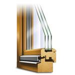 Holzfenster Rustikal Querschnitt