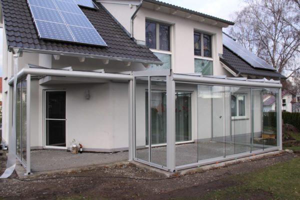 Terrassendach mit Kaltwintergarten hoch flexibel durch Schiebeelemente in 71093 Weil im Schönbuch
