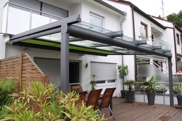 Terrassendach mit Sparrenüberstand vorne in 71254 Ditzingen