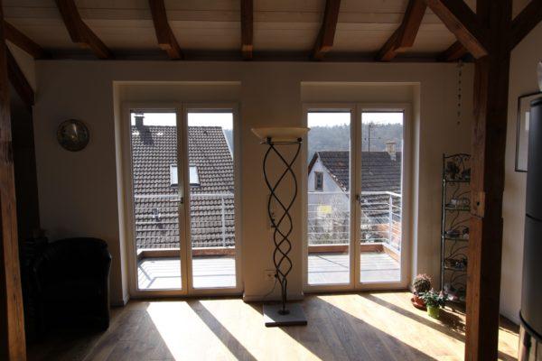 Kunststoff Fenster mit schmalen Ansichtsbreiten