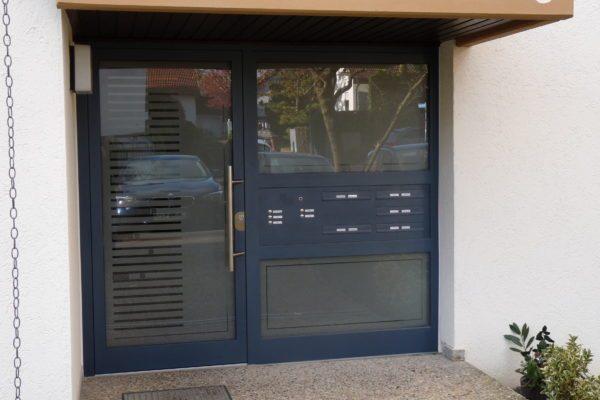 Vollglastüre als Haustüre in 71254 Ditzingen