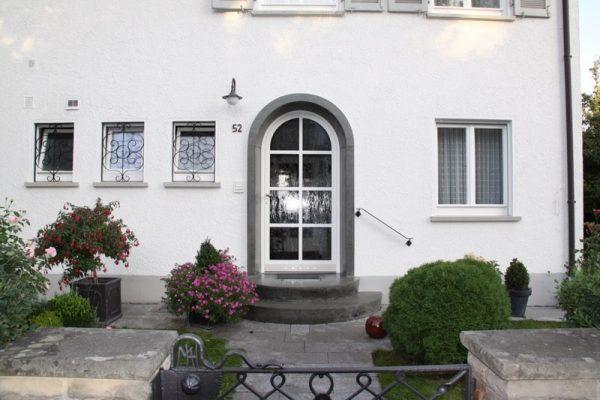 Rundbogenhaustuere aus Aluminium 71083 Herrenberg