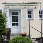 Sprossentüre mit Sprossenfenster und Vorbau aus Edelstahl in 71063 Sindelfingen