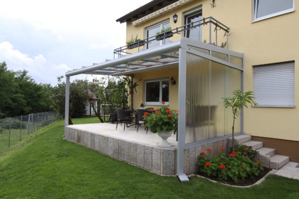 Seitenwand für Terrassendach