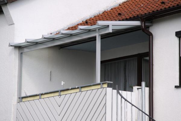 Balkonüberdachung in Sindelfingen Grünäcker
