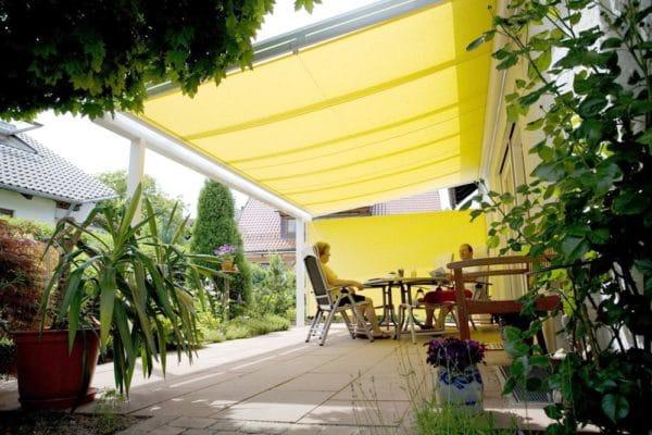 Wohlfühlen auf der Terrasse h Sonnenschutz 75397 Simmozheim