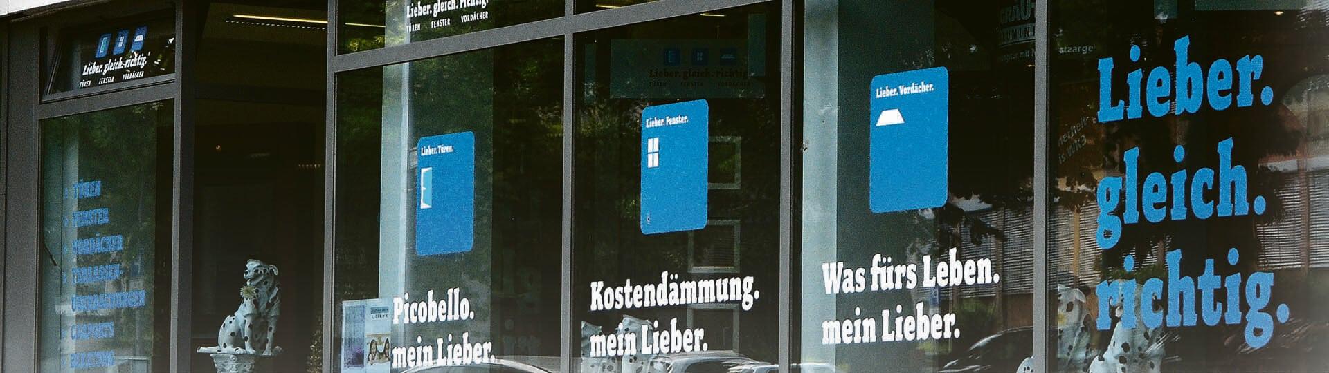 Lieber.gleich.richtig. – Ihr vielseitiger Experte für Vordächer, Türen und Fenster in Leonberg Headerbild