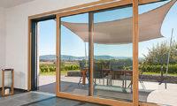 Holz-Alu Fenster - Terrassentüre