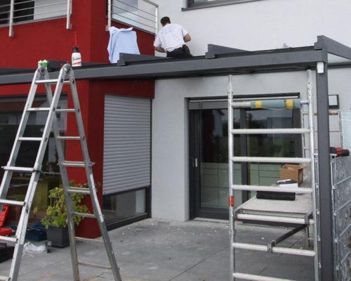 Einblicke in die Montage einer Terrassenüberdachung preview