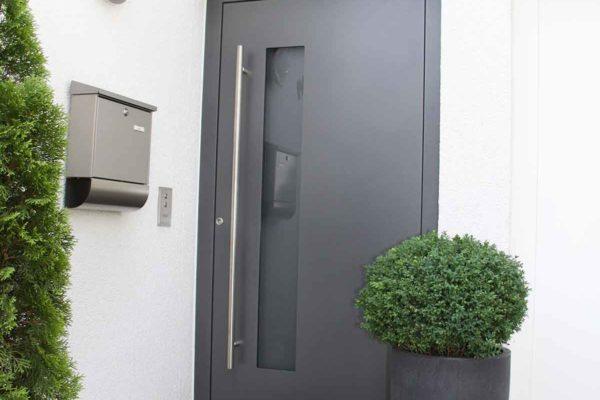 Moderne Aluminium Haustüre