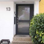 Haustüre aus Aluminium mit viel Glas in 71101 Schönaich